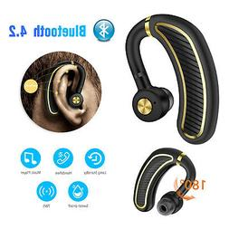 180HOURS Standby Wireless BT   Hands Free Headset Stereo Hea