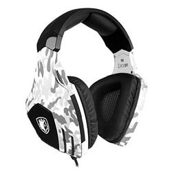 2018 Newest Sades SA618 Gaming Headset for PS4, Xbox One, PC