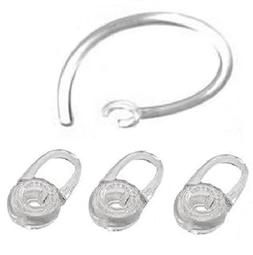 3 Replacement Eargel and 1 Earhook For Plantronics M70, M90,