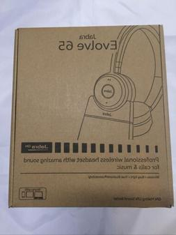 Jabra 65 MS Stereo Bluetooth Headset - Black