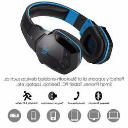 7.1 Stereo Wireless Bluetooth Gaming Headsets Headphones Wir