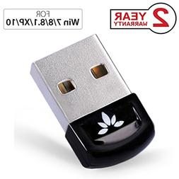 Avantree DG40S USB Bluetooth 4.0 Adapter Dongle for PC Lapto