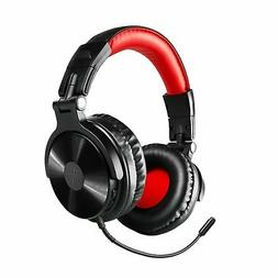 Bluetooth Over Ear Headphones, OneOdio Wired Gaming Stereo H