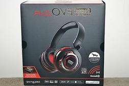 Creative Sound Blaster EVO ZxR Entertainment Headset With Bl
