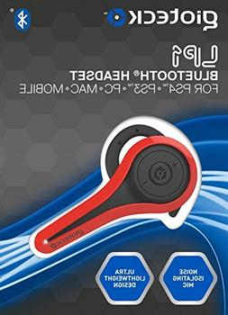 Gioteck LP-1 Bluetooth Chat Headset  - Red
