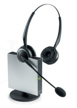 Jabra GN9125 Duo Flex-Boom Wireless Headset for Deskphone