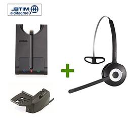 Mitel Compatible Jabra PRO 920 Wireless Headset Bundle | Rem