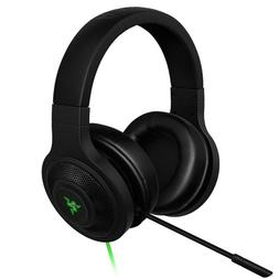 Razer Kraken USB - Black Noise Isolating Over-Ear Gaming Hea