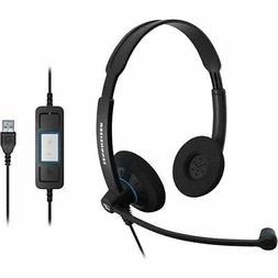 Sennheiser SC 60 USB CTRL  - Double-Sided Business Headset |