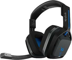 ASTRO Gaming A20 Wireless Headset, Black/Blue - PlayStation