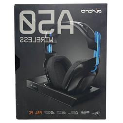 Astro - A50 - Black/Blue - PS4+PC - Wireless Gaming Headset