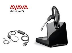 Avaya Compatible Plantronics CS530 VoIP Wireless Headset Bun