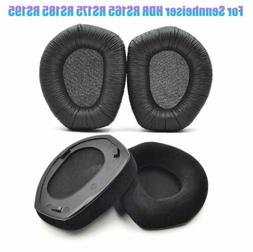 Black Replacement EarPads Cushion For Sennheiser HDR RS165 R