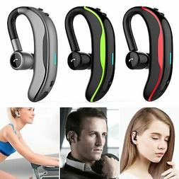 Bluetooth 4.1 Headset Wireless Headphones Earpiece Hands-fre
