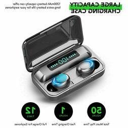 Bluetooth 5.0 Headset TWS Wireless Earphones Earbuds Stereo
