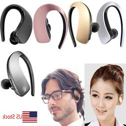 Bluetooth Earpiece Wireless Stereo Headset with Mic for Cell