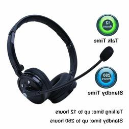 Bluetooth Headphone Wireless Headset with Mic for iPhone X 8