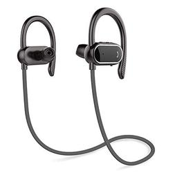 Z ZHOUHAI Bluetooth Headphones Sport Wireless Sweat-Proof Ea