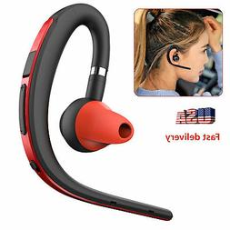 Bluetooth Headset Hands free Wireless Earpiece Noise Cancell