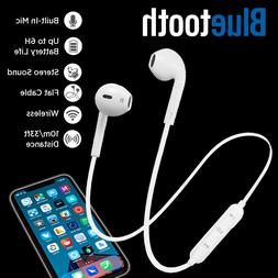Bluetooth Headset Wireless Sport Stereo Headphones Earphone