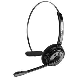 Bluetooth Wireless Trucker Headset with Boom Microphone for