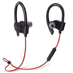 Bluetooth Workout Headphones for Running and Gym with Wirele