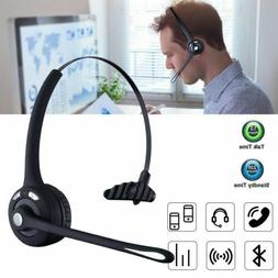 For Car Truck Driver Best Bluetooth Headset Wireless Headpho