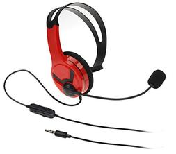 AmazonBasics Chat Headset for PlayStation 4   - Red