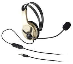 AmazonBasics Chat Headset for PlayStation 4   - Gold