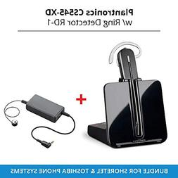 Plantronics Cs 545-XD Wireless Headset System with Ring Dete