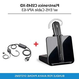 Plantronics Cs 545-XD Wireless Headset System with EHS Cable