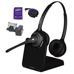 Plantronics CS520 Wireless Office Headset System Bundled wit