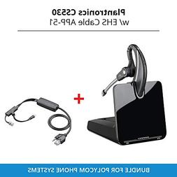 Plantronics CS530 Office Wireless Headset with Extended Micr