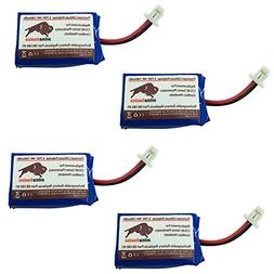CS540 Battery, Premium Quality Replacement Rechargeable 140m