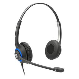 Sennheiser DeskMate Dual-Ear Corded Office Telephone Headset