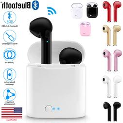 Dual Wireless Bluetooth Earphone Earbuds For Android IOS Uni