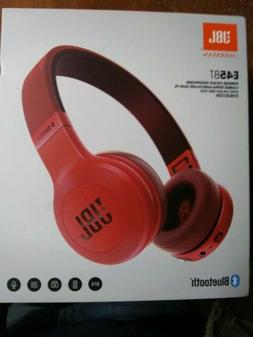 JBL E45BT Bluetooth headphone enclosed type with microphone