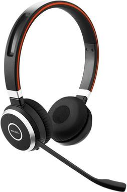 Jabra Evolve 65 UC Stereo Wireless Headset / Headphones with