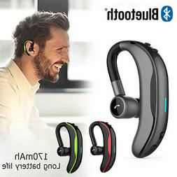 F600 Wireless Bluetooth Black Headset with long battery life