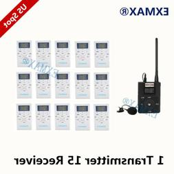 EXMAX FM Wireless Audio Church Translation System 60-108MHz