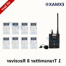 EXMAX FM Wireless Audio Interpretation Translation System Fo