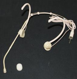 Foldable Earhook Headset Mic Headworn Microphone for Sennhei