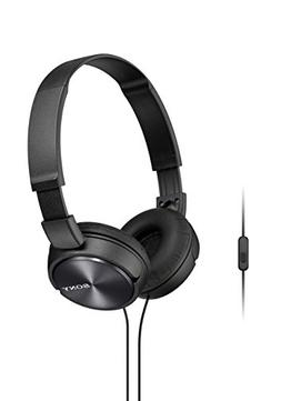 Sony Foldable Headphones with Smartphone Mic and Control - M