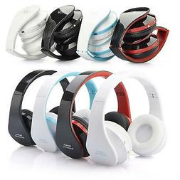Foldable Wireless Headset Stereo Headphone For All Phone Tab