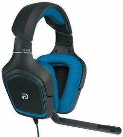 LOGITECH G430 981-000536 Dolby 7.1 surround sound Gaming Hea