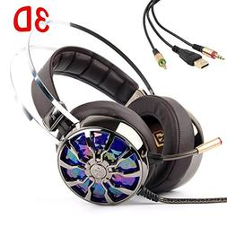Gaming Headset for PS4 PC Nintendo Switch Xbox One USB Gamin