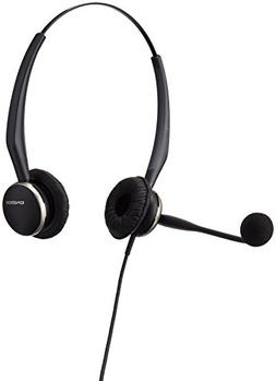 Jabra GN2125 Duo  Corded Quick Disconnect Headset for Deskph