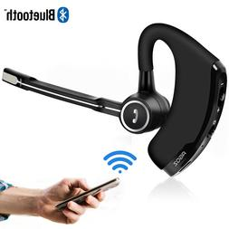 HD Bluetooth Headset Hands-free Wireless Mobile Earpiece w/