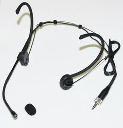 Headset Mic Headworn Microphone Foldable earhook for Sennhei