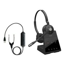 Jabra Engage 65 Stereo Wireless Headset with EHS Cisco 14201